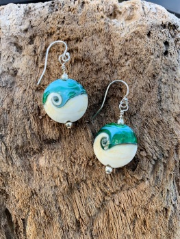 'Skrinkle' earrings