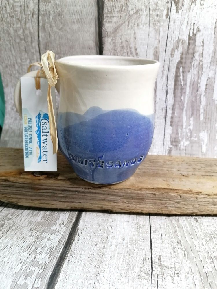 'Whitesands' Seascape Large Mug