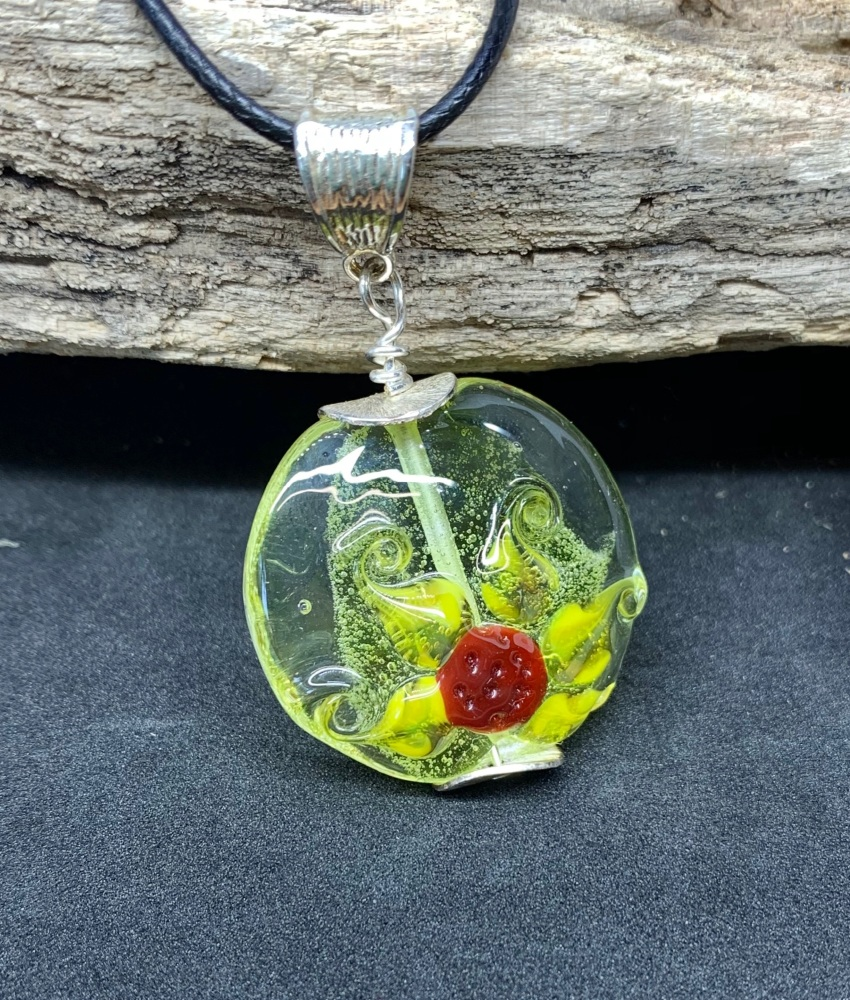 'Sunflower ' pendant