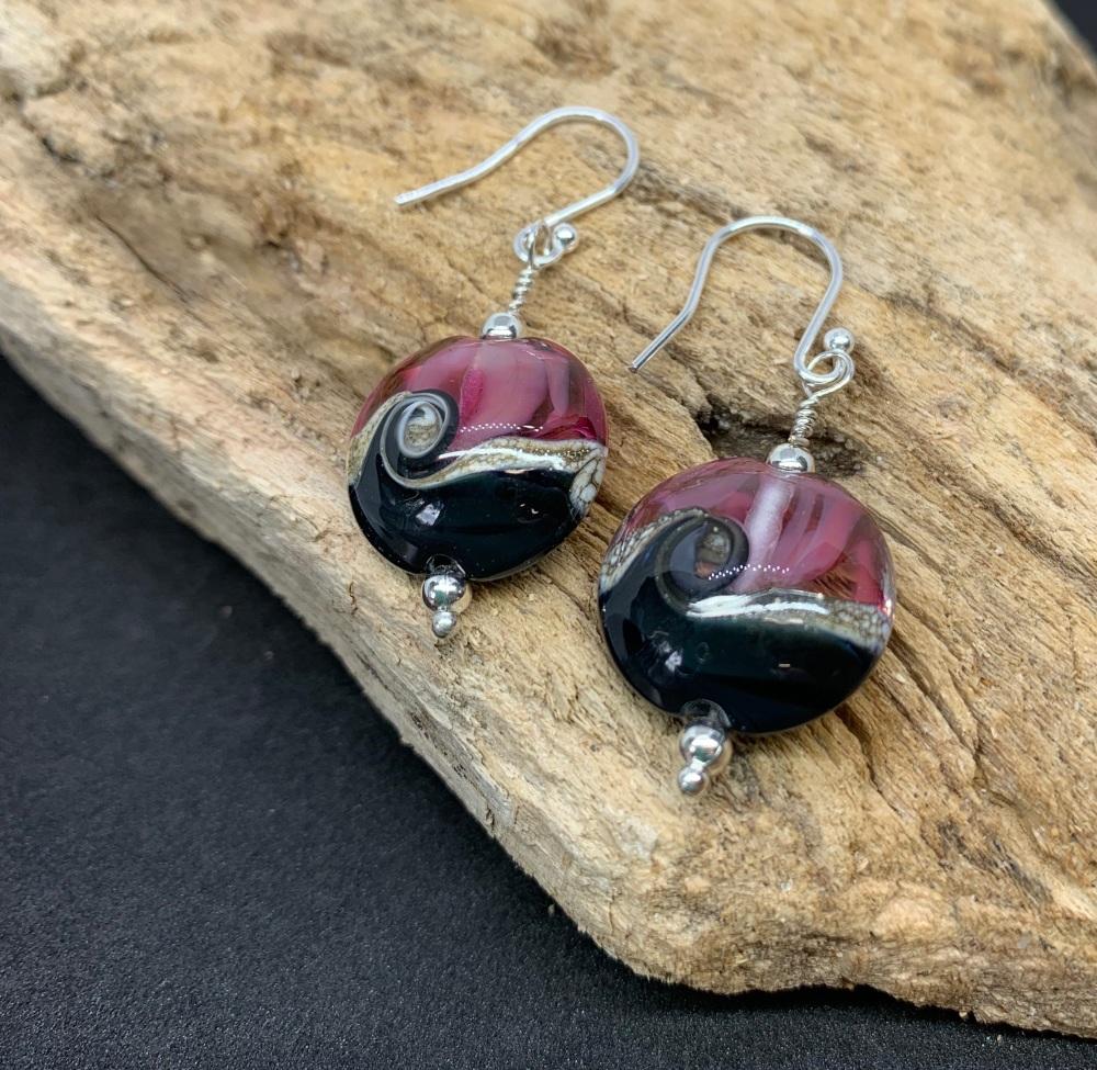 'Swan lake ' earrings