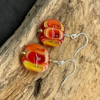 'Dragon ' earrings