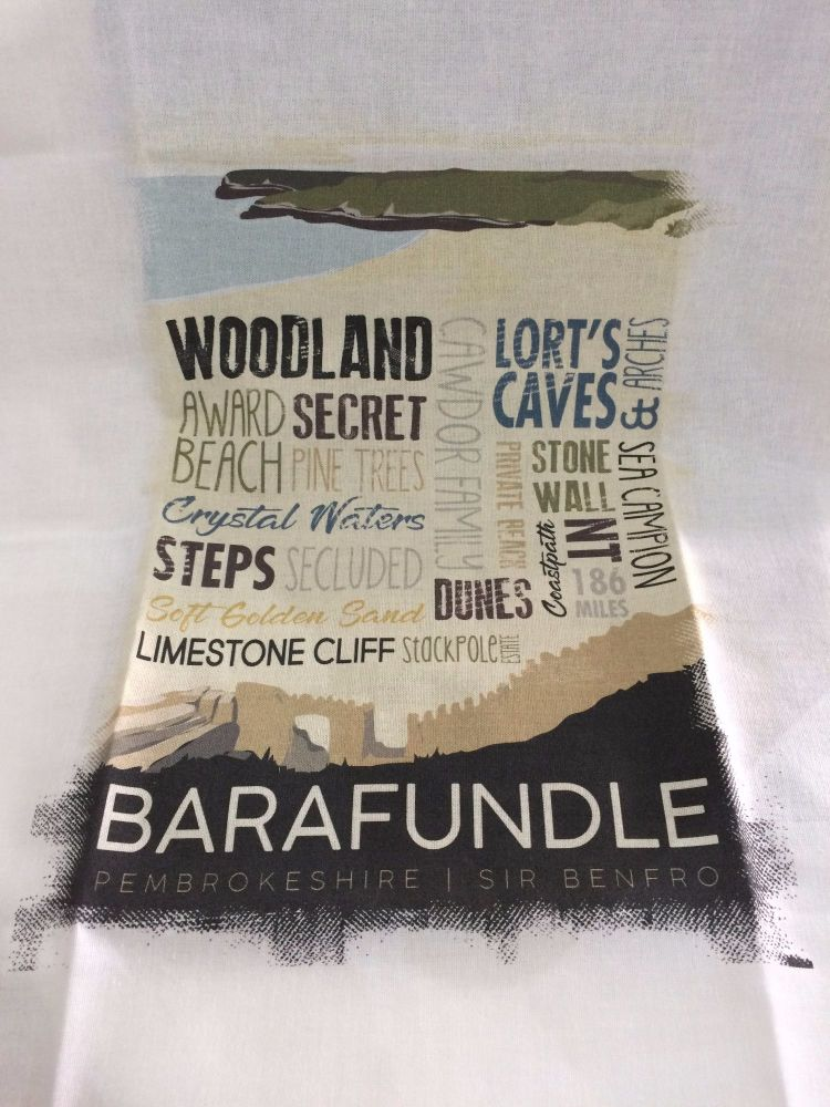 Barafundle Tea Towel