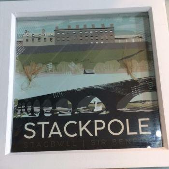 Stackpole, Pembrokeshire Box Frame