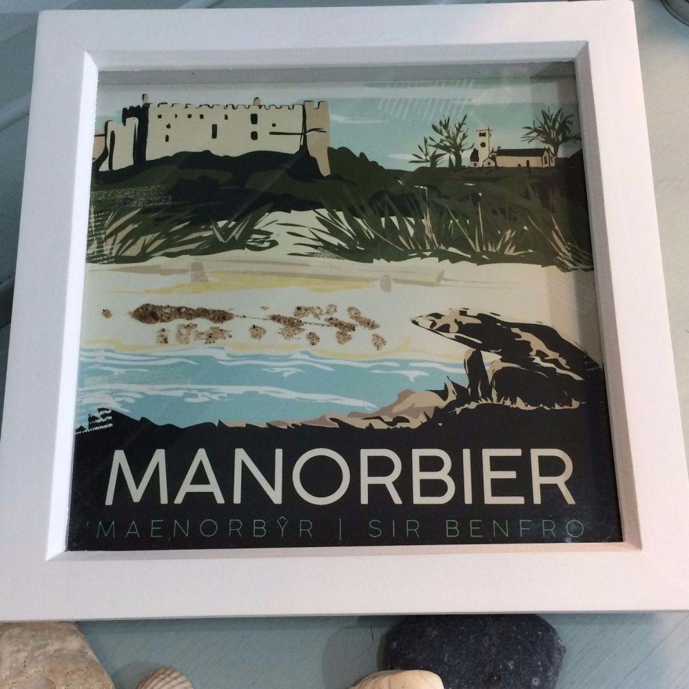 Manorbier, Pembrokeshire Box Frame