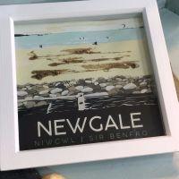 Newgale, Pembrokeshire Box Frame