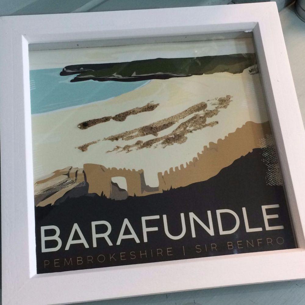 Barafundle, Pembrokeshire Box Frame