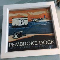 Pembroke Dock, Pembrokeshire Box Frame