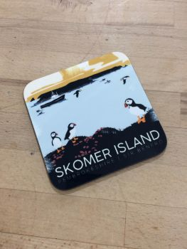 Skomer Island Coaster