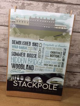 A2 Stackpole Poster