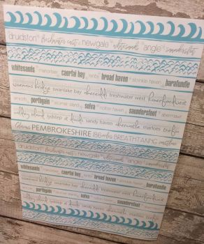 Pembrokeshire Wrapping Paper