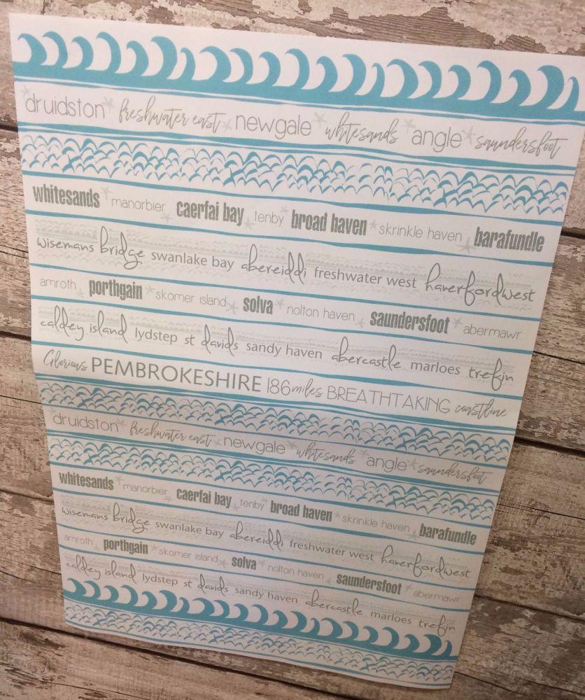 Pembrokeshire Gift Wrap