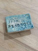 'From Pembroke' Fridge Magnet