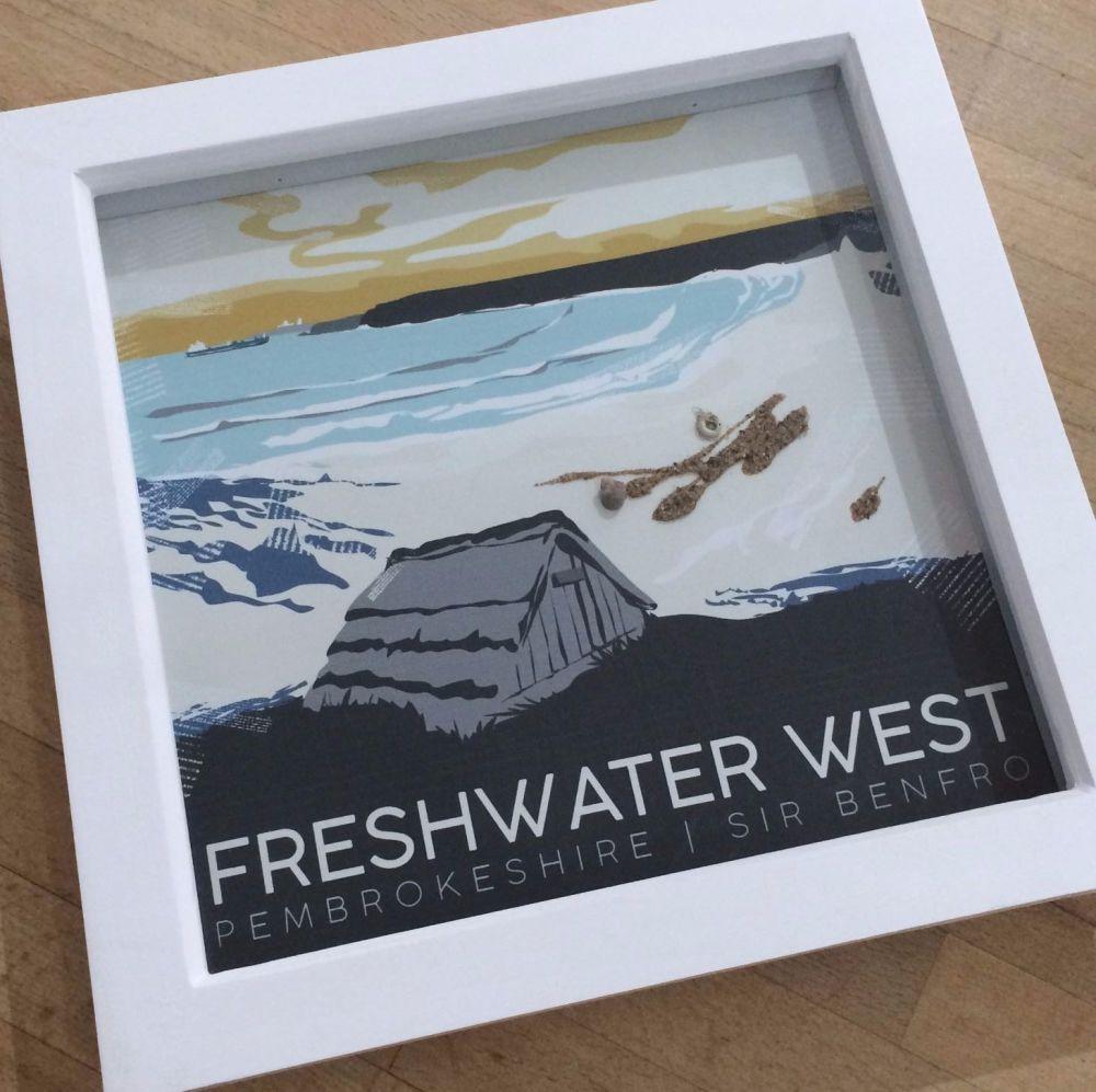 Freshwater West, Pembrokeshire Box Frame