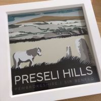 Preseli Hills, Pembrokeshire Box Frame