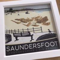 Saundersfoot, Pembrokeshire Box Frame