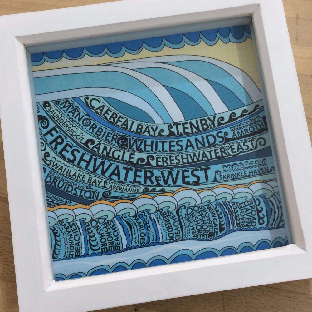 Pembrokeshire Beaches box frame