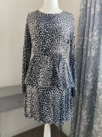 Leopard Print Tiered Jersey Dress