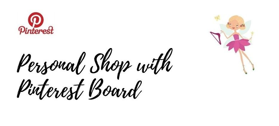 Personal Shop with Private Pinterest Board
