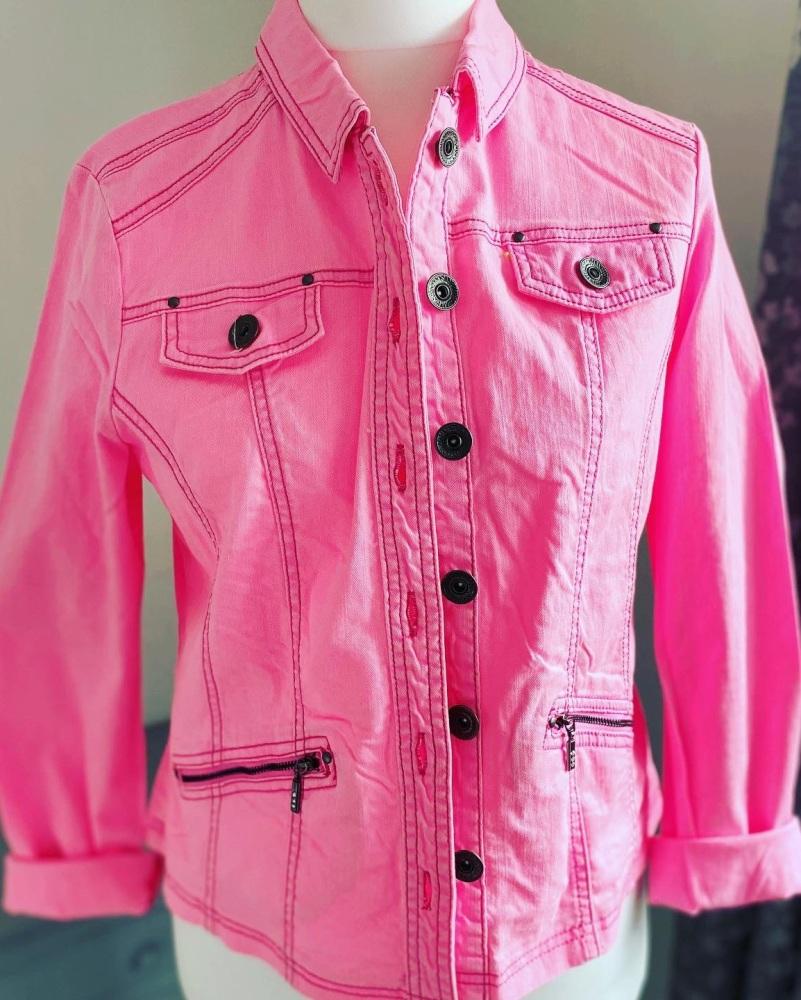 Pink Shacket / Jacket