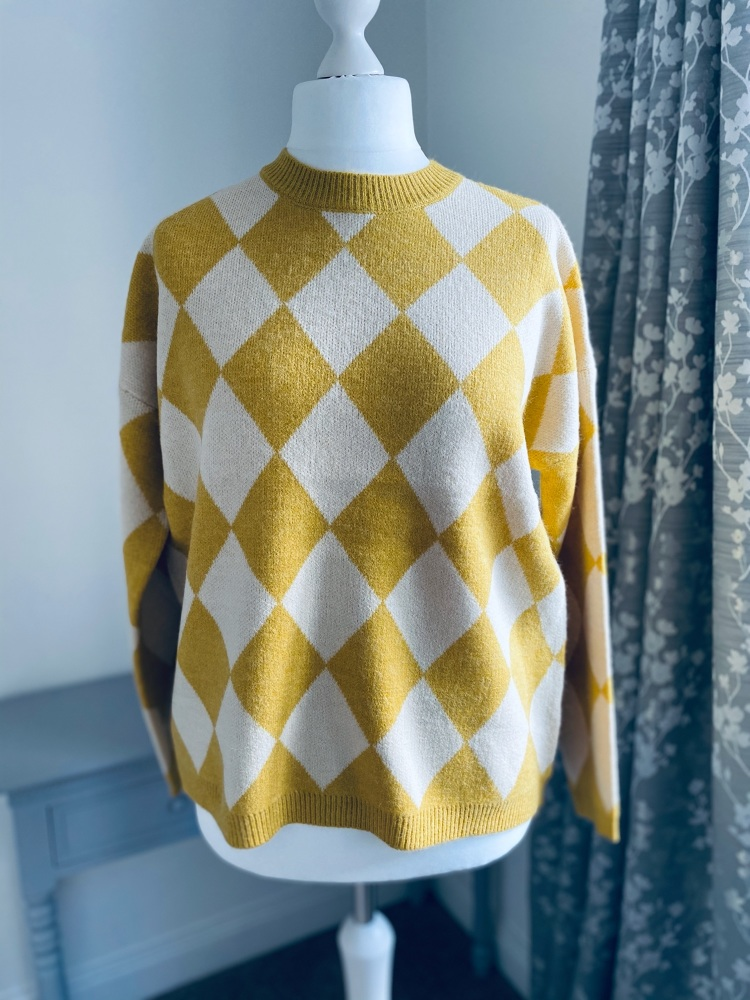 Harlequin Design Jumper