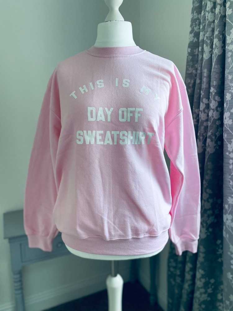 Weekend Off Slogan Sweatshirt