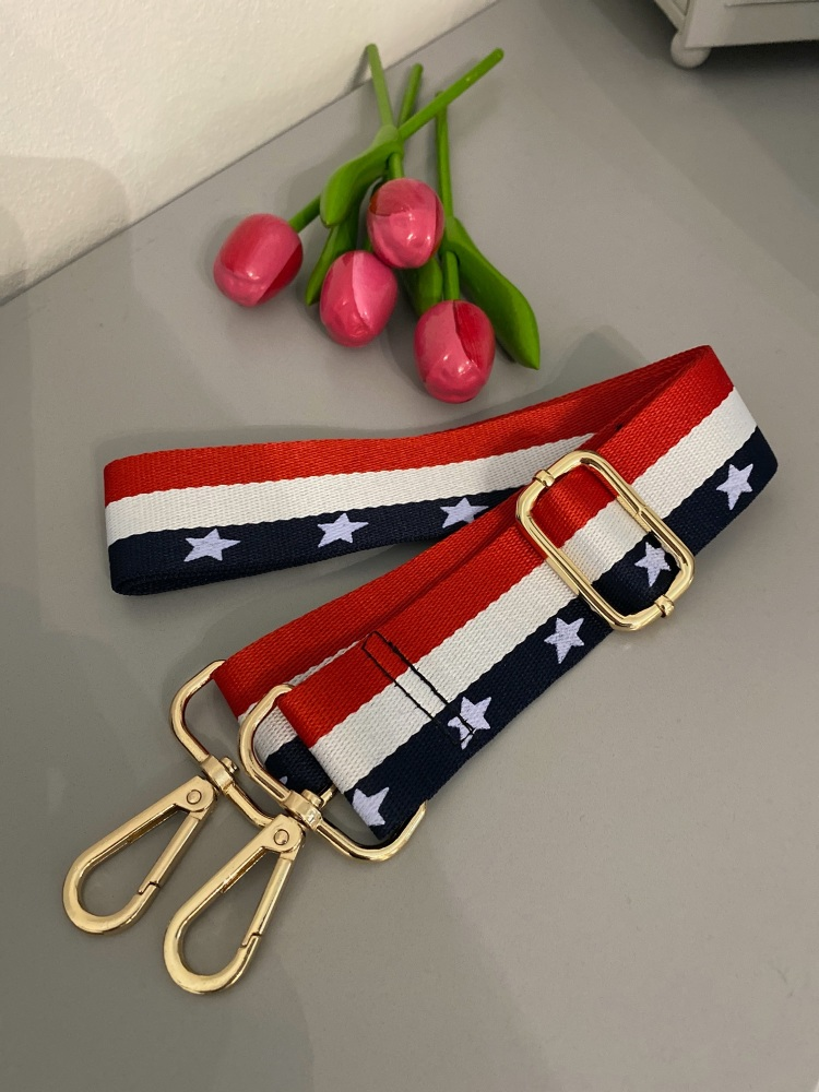 Stars & Stripes Detachable Bag Strap