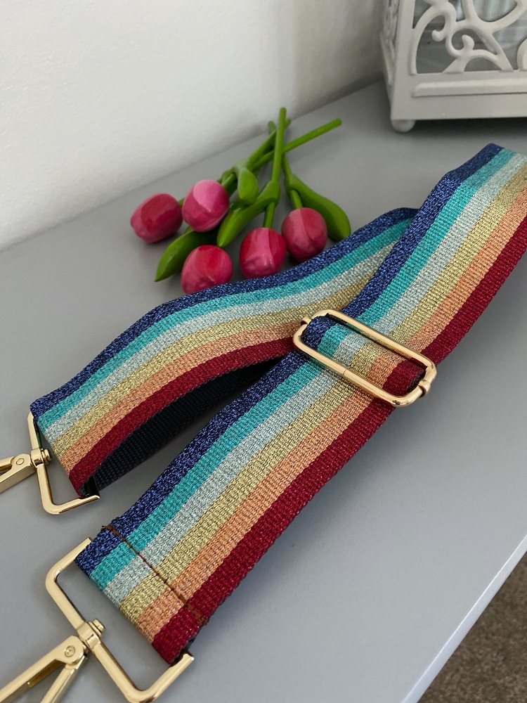 Sparkle Rainbow Detachable Bag Strap