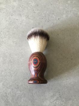 Multi Coloured Shaving Brush
