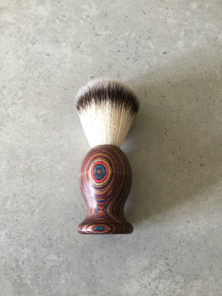 Multi Coloured Shaving Brush