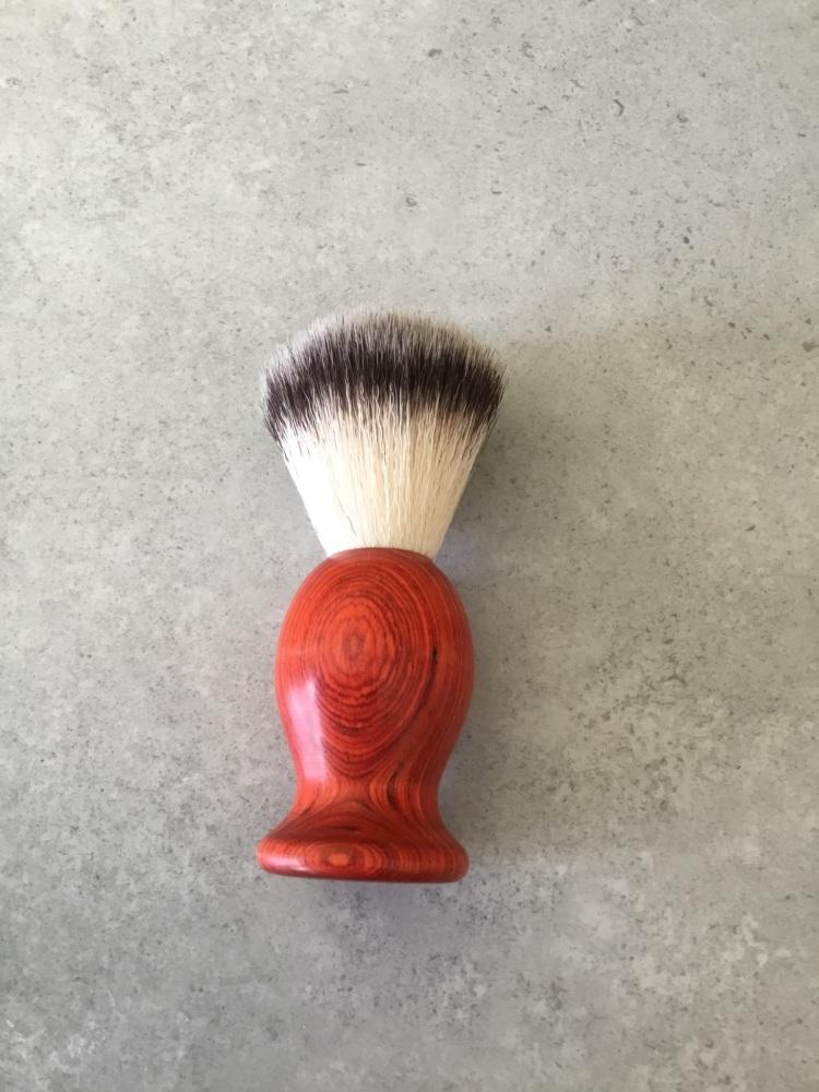 Orange Shaving Brush