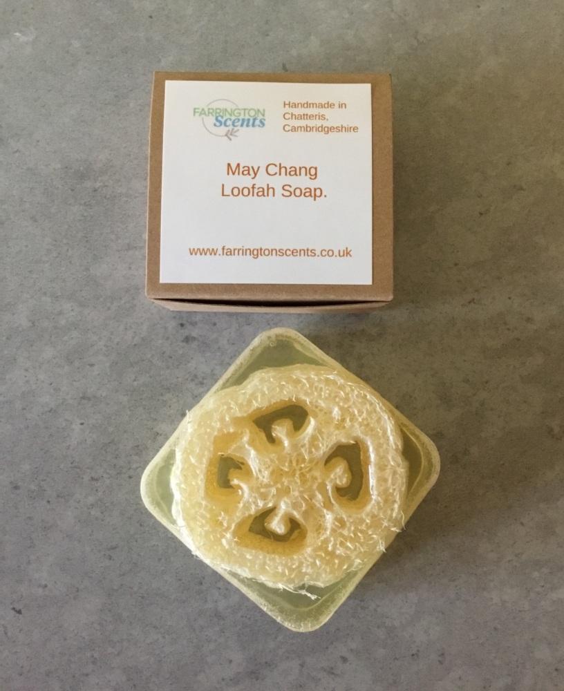 May Chang Loofah Soap