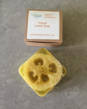 Orange Loofah Soap