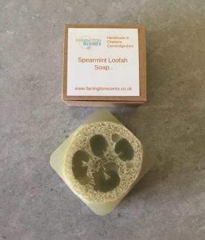 Spearmint Loofah Soap
