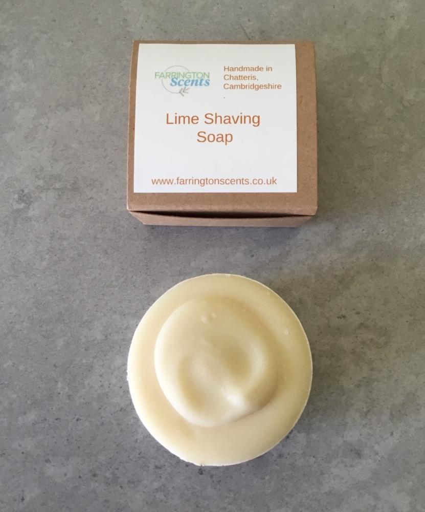 Lime Shaving Soap Bar