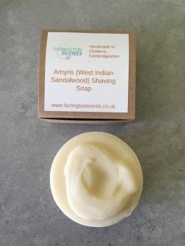 Amyris (West Indian Sandalwood) Shaving Soap Bar