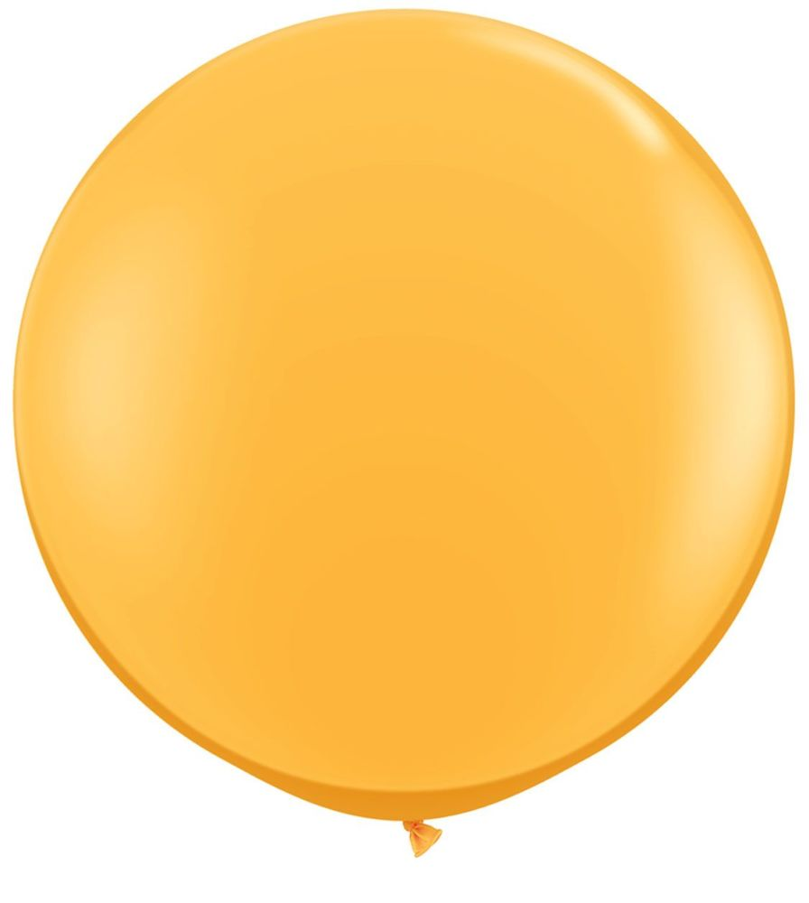 Goldenrod Fashion 3ft/ 91cm Qualatex Latex Balloon Helium Giant Party Balloons