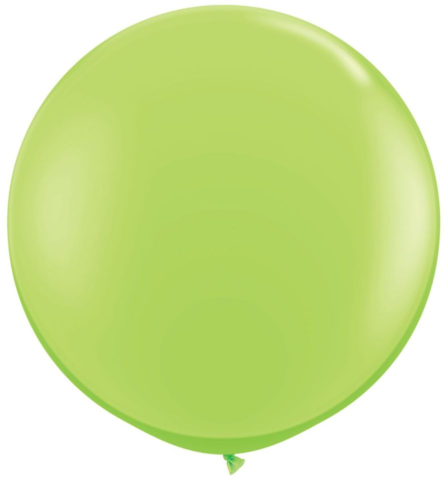 Lime Green Fashion 3ft/ 91cm Qualatex Latex Balloon Helium Giant Party Balloons