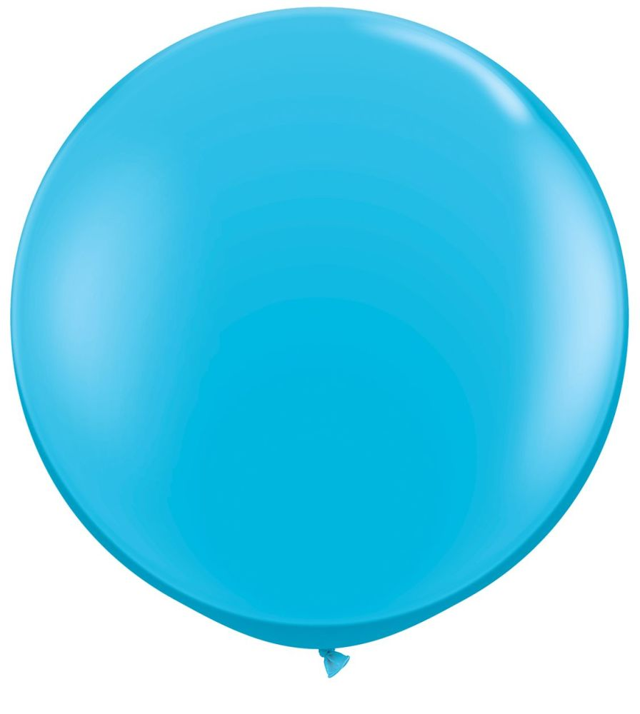 Robin's Egg Blue Fashion 3ft/ 91cm Qualatex Latex Balloon Helium Giant Party Balloons