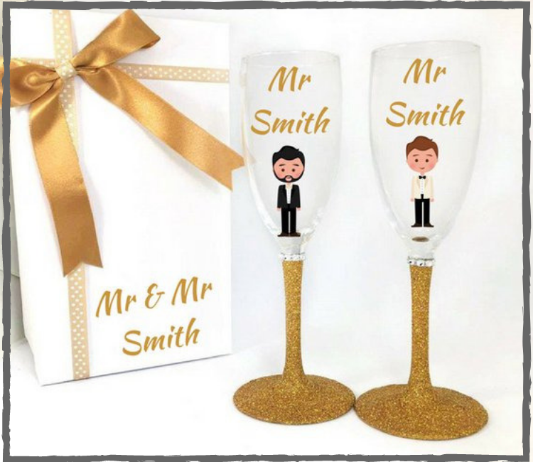 Wedding / Engagement Glasses