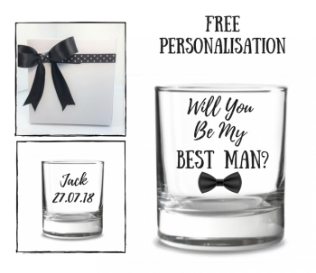 Will You Be My Best Man Whiskey