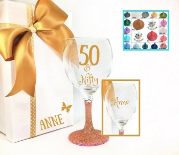 50th Wine Glass (2)