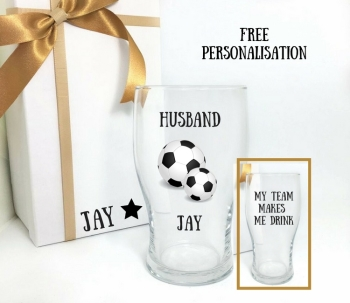 Husband Football Themed