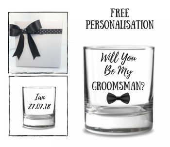 Will You Be My Groomsman Whiskey