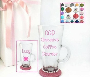 OCD Coffee Glass