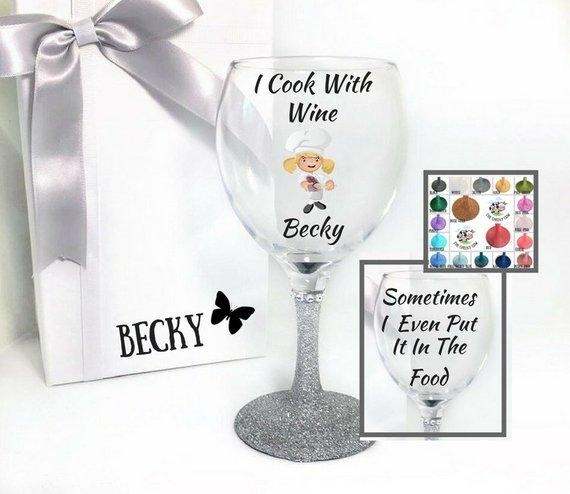 Chef Wine Glass