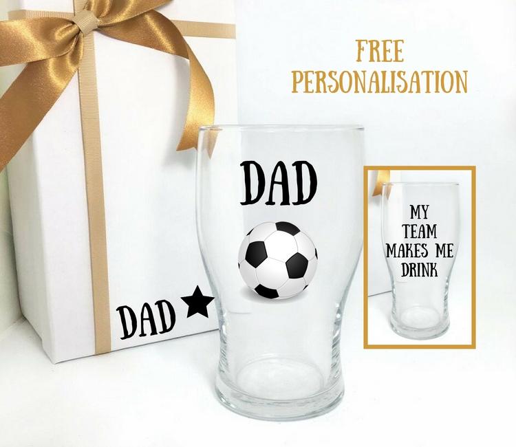 dad pint glass