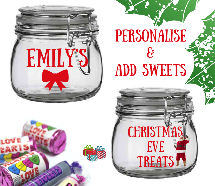 christmas sweet jar