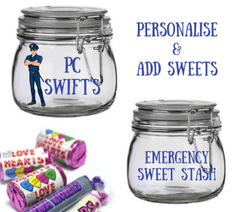 Sweets Police Man