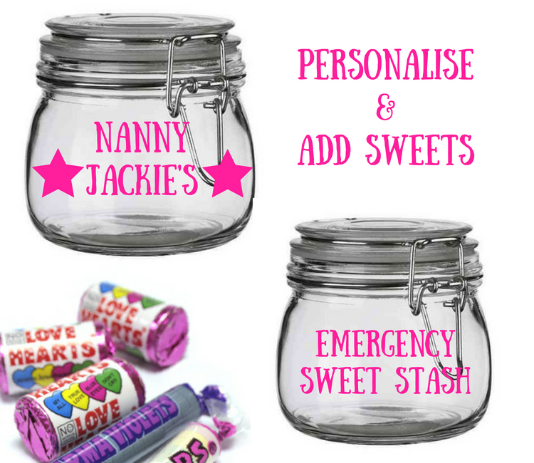 personalised nanny gifts