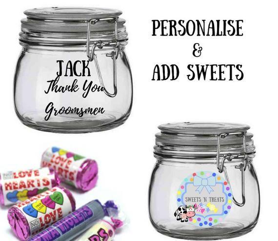 Sweets Thank You Groomsman